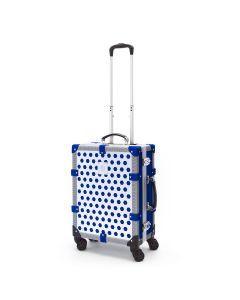 EPOCA - Trolley Cabina Alu Reticolo Blu