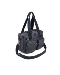 D-SNAP - Borsa 2 Tasche-Blu Denim