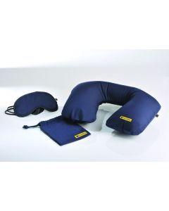 TRAVEL BLUE - Set Cuscino - Mascherina